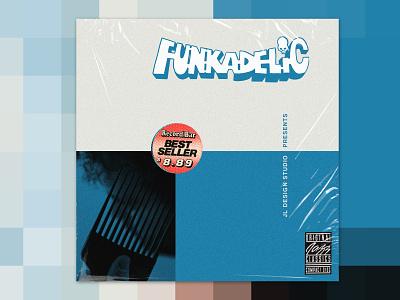 Funkadelic Pt 2 logo album artwork album cover collage spoof music album art design