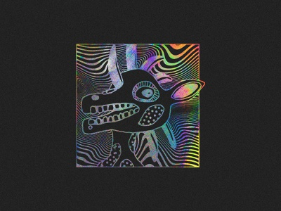 POLYENSO DROP 1 posters album art drawing photoshop character design art direction polyenso character psychedelic bands music branding illustration identity apparel logo streetwear design