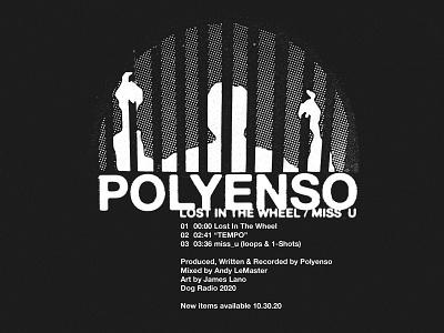 POLY DROP 2 clothing music collage streetwear branding illustration identity apparel logo design