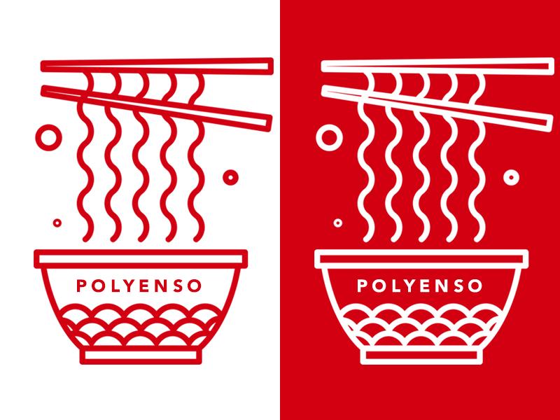 Ensoramen.  music bands vector concept abstract illustration design polyenso