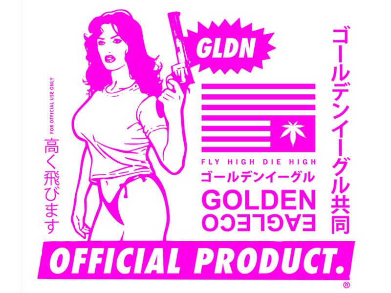 Official Product.  skateboarding apparel clothing design streetwear golden eagle co