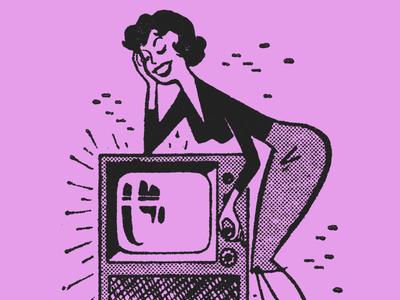 Retro TV Chic.