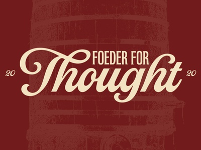 Foeder for Thought 2020.