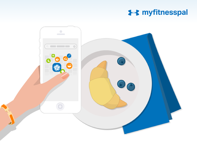 Breakfast of Champions gif fitness shadows ui ux ios health search meals recipes food illustrations