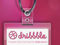 Dribbble Debut Badge