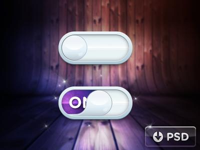 Raindrop iOS Toggle PSD mobile ui toggle design switch psd freebie free ux