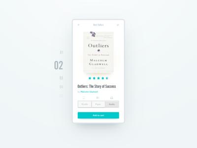 Book UI design