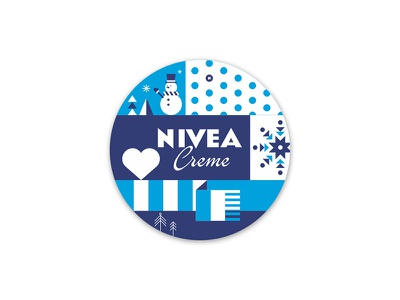 nivea illustration graphic design icon nivea