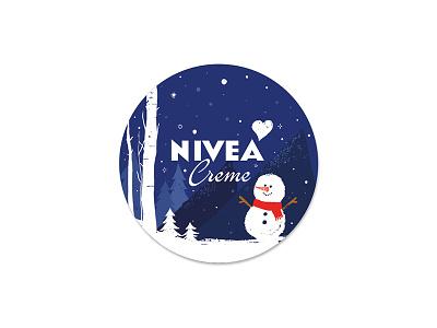 nivea icon illustration graphic design character design