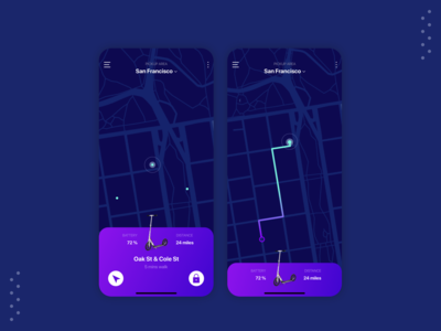 Scooter Sharing App