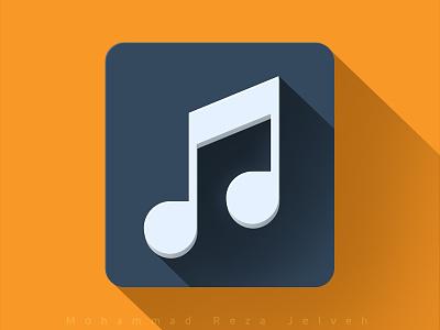 Music mrjelveh minimal simple blue yellow music flat