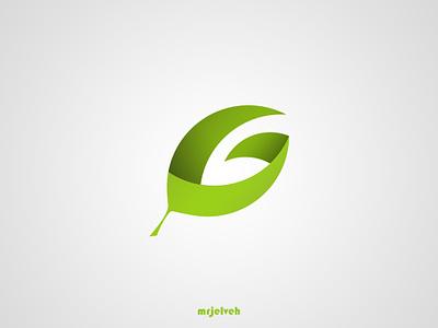 Gilaneh Brand Logo fibonacci brand persian tea tea leaf g logo typography branding logo design illustration green mrjelveh