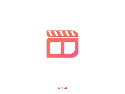 HAFT Monogram | هفت mrjelveh gradient clapperboard typogaphy branding brand persian monogram persian logo monogram logo monogram movie cinema 7