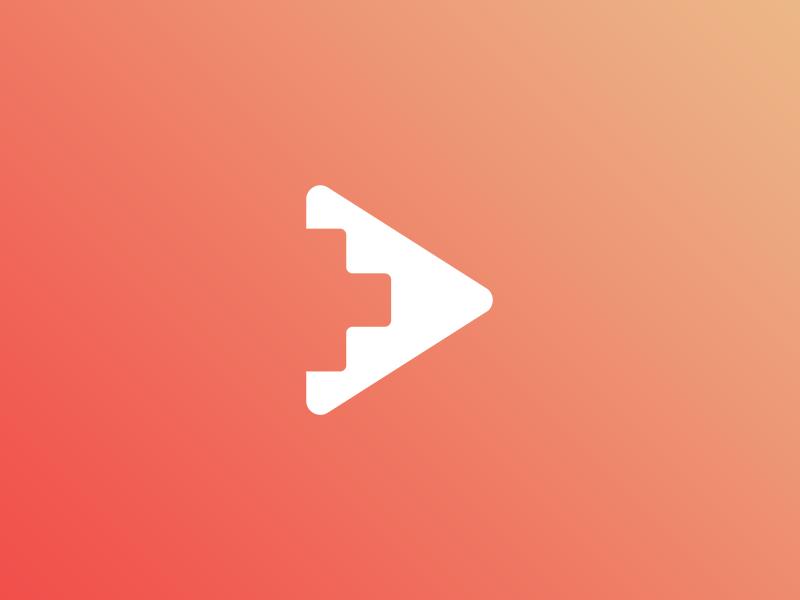 Blox (Concept) startup clean video games tech branding illustrator vector design logo