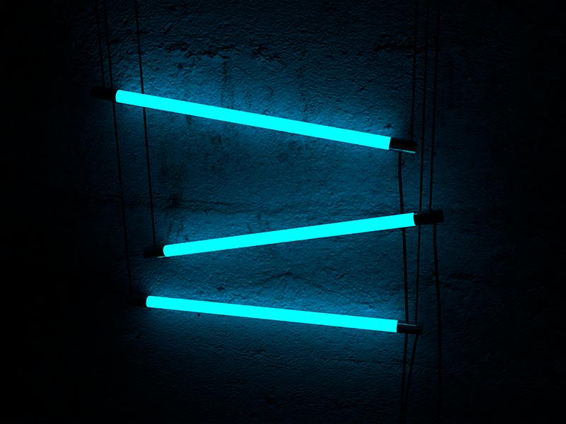 Illuminate wall concrete moody mood dark reflection shading textures lighting light c4d