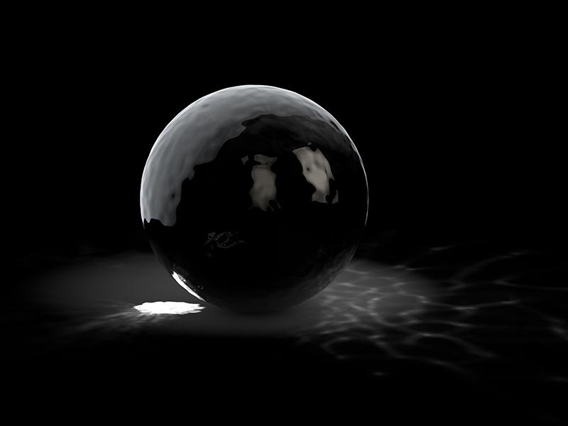 Caustics glass photorealistic perspective simulation 3d c4d cinema4d deform light caustics