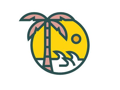 Summer sun palm beach patch
