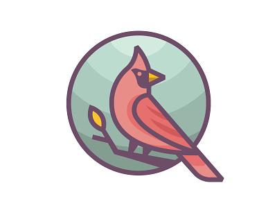 Cardinal animal patch bird cardinal