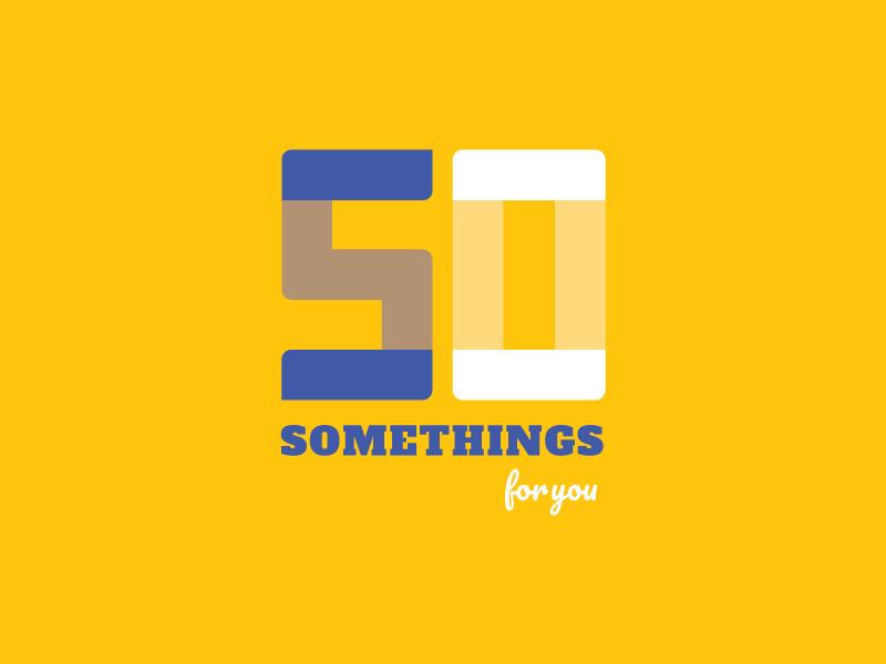 50 Somethings For You illustration logo somethings 50