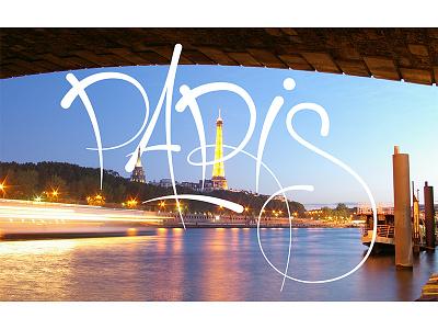 Paris typography type lettering france paris
