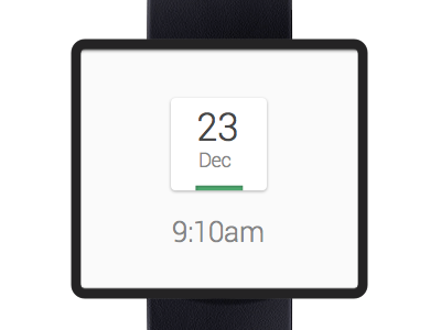 Smart Watch UI design app clean interface ui ux minimal android google mobile watch