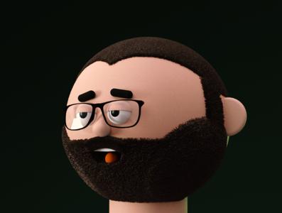 Filip design web man 3d illustration illustration character design character 3d character 3d art 3d