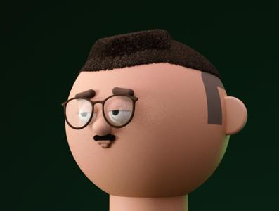 Ivan 3d illustration man 3d model 3d artist 3d art 3d character character design character design illustration