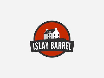 Islay Barrel: Logo whisky whiskey barrel islay vector logo branding app