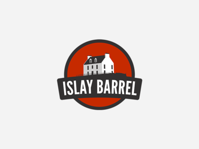 Islay Barrel: Logo whisky whiskey barrel islay vector logo branding app