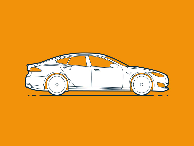 How much does an app cost? vector price illustration e-smart car app