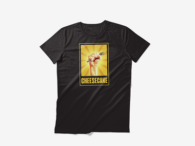 Cheesecake! diabetes t-shirt sweets food cake propaganda revolution cheesecake