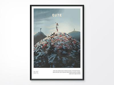 Posters: Qute fashion clothing social cute qute mobile wallart poster design app