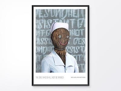 Poster: X wallart health medical poster mobile design app