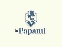 La Papanu logo design