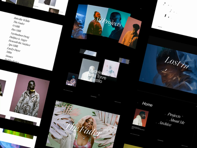 Madeleine Dalla responsive web screendesign webdesign clean typography interface ux minimal website