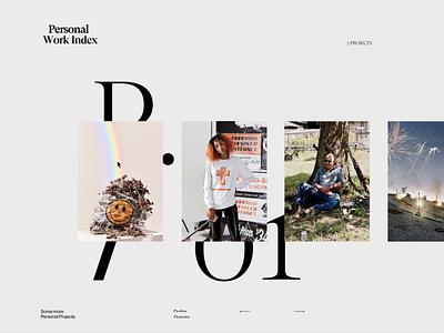 Craig Reynolds screendesign clean typography interface minimal website ux ui design