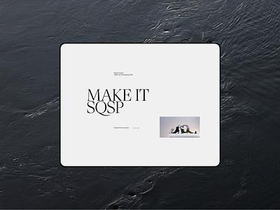 Craig Reynolds screendesign webdesign typography interface minimal website ux ui design