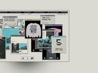Don't visit Badlands clean typography interface minimal website ux ui design
