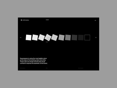 Color Interactions typography minimal interface website ui ux design