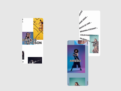 Marcus Erikkson - Responsive screendesign webdesign typography interface website ui minimal design