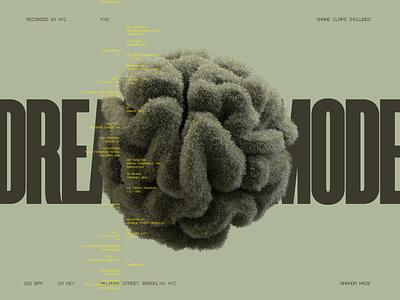 Dreamer Mode webdesign typography interface website minimal ui design