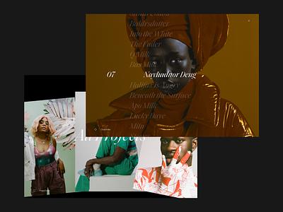 Madeleine Dalla - Webby Awards screendesign webdesign clean typography interface website minimal ui design