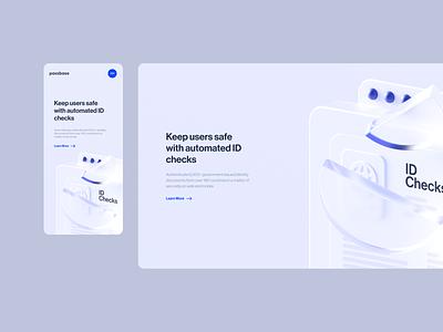 Passbase screendesign webdesign clean ux typography interface website minimal ui design