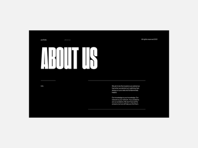 Squad Capital - About Page webdesign branding ui graphic design