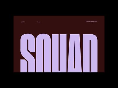 Squad Capital - Color options ui design branding logo ux illustration website interface typography minimal