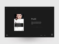 Swipsh Profil Dark