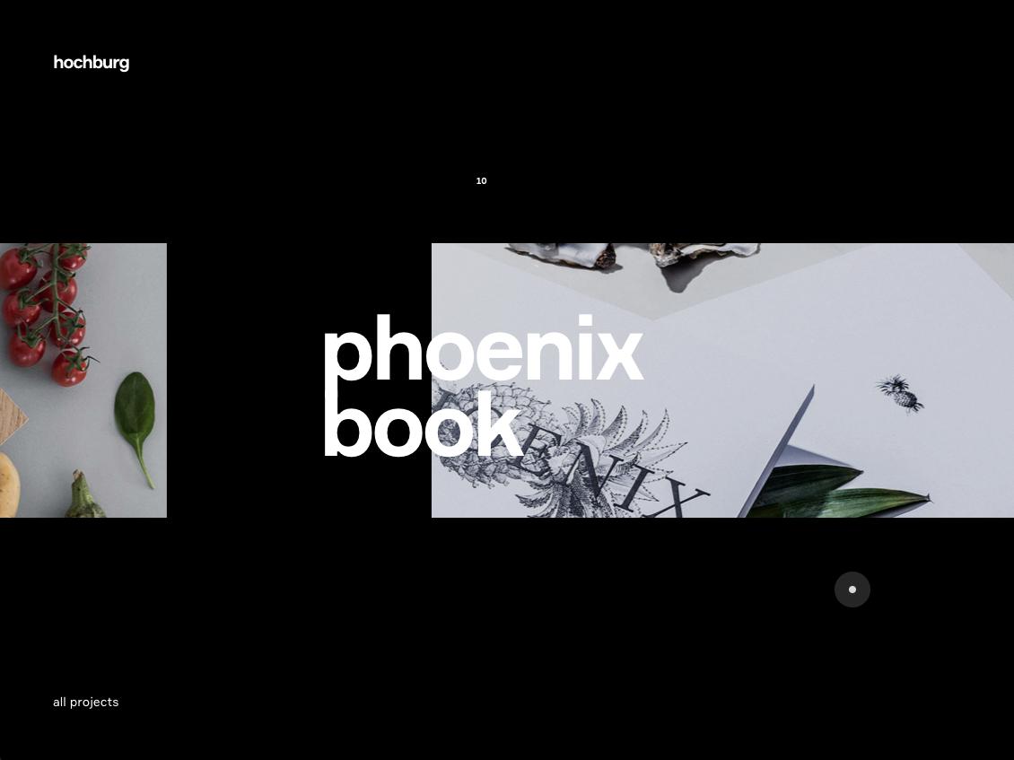 Menu Index (primary index) website screendesign web typography clean minimal interface ux design ui