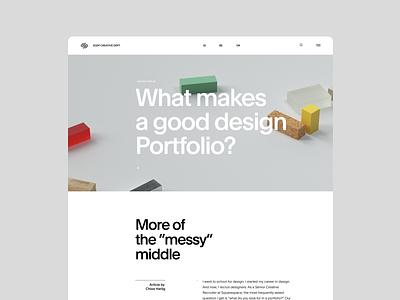 SQSP Creative Department minimalistic screendesign webdesign typography minimal interface ui website ux design