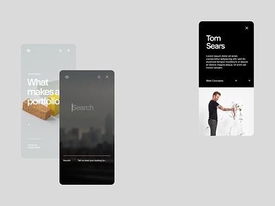 SQSP Creative Department responsive screendesign typography clean minimal interface website ux ui design