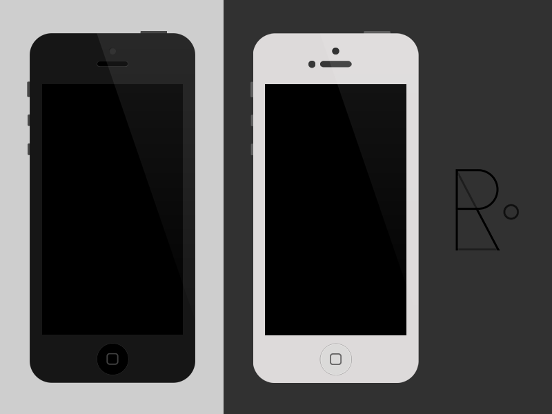 iPhone 5/4S/4 PSD iphone psd free template iphone 5 iphone 4